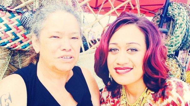 Selfie: Miss Kihi raua ko whaea